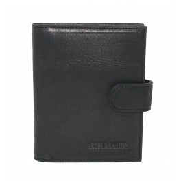 Porte-cartes 40 cartes en cuir gras ARTHUR & ASTON