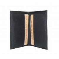 Porte-cartes en cuir gras ARTHUR&ASTON