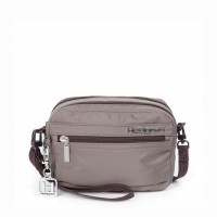 Pochette double zip en toile Hic Inner City HEDGREN