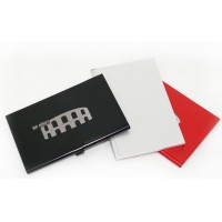 Etui porte-carte Alu protection RFID