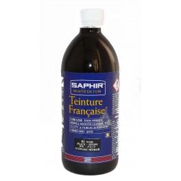 Teinture française aux drapeaux Saphir 500ml