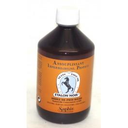 Assouplissant pour le cuir Etalon Noir Huile de pied de boeuf500 ml SAPHIR