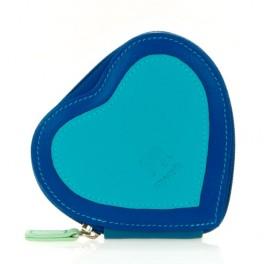 Porte-monnaie cuir en forme de coeur MYWALIT