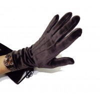 Gants dame velours taille unique GLOVE STORY 31029NF
