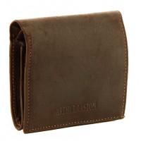 Porte-monnaie/porte cartes en cuir gras ARTHUR&ASTON