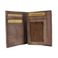 Portefeuille junior en cuir de vachette vintage ARTHUR&ASTON